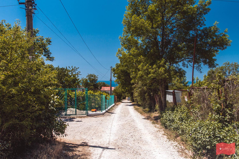 Путь к пляжу Каравелла, мыс Фиолент
