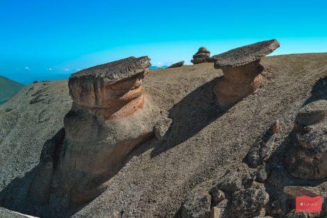 Каменные грибы Джилы-Су, КБР